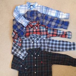 Bundle of baby boys button up shirts